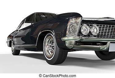 Cool Classic Car Headlight Shot