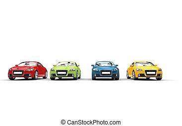 Cars - Basic Colors