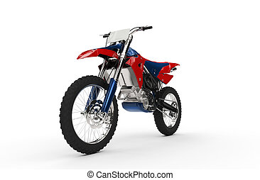Dirt Bike Red Front