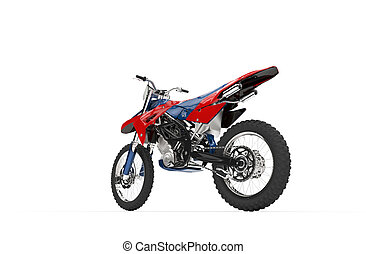 Dirt Bike Red Tail