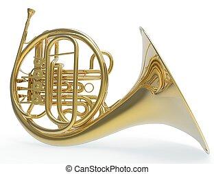 trombón, francés