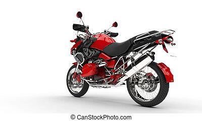 Red Fast Bike