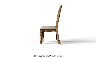 Antique Chair - Side View