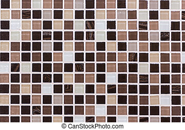 ceramic mosaic background in swimming pool or kitchen