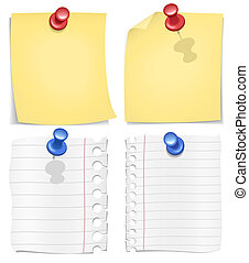 Scrap / Postit Vector Image - You can change any detail,...