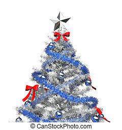 Ice Christmas Tree