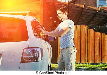 自動車, 洗浄