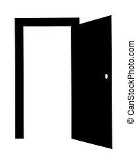 door open  - door open