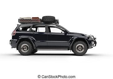 Big Modern 4WD SUV