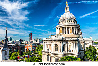 Saint Paul Cathedral Dome, London.
