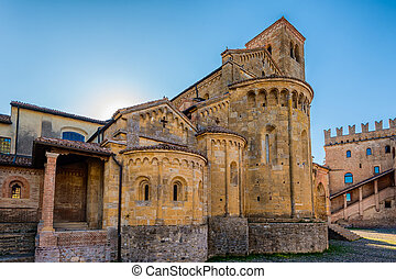 La Collegiata Castell'Arquato - In the picture the...