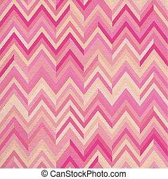 Seamless pattern pink zigzag