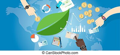 sustainable development sustainability growth green economy concept environment
