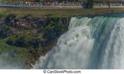 Niagara Falls from USA side. Canada