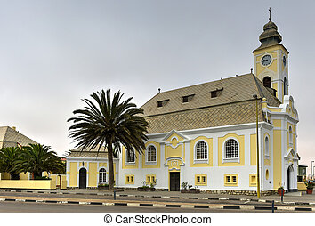 German Evangelical Lutheran Church - Swakopmund, Namibia -...