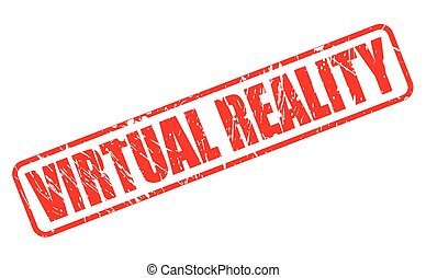 Virtual Realty red stamp text on white