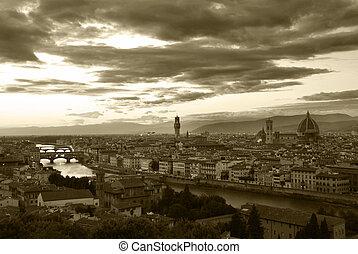ocaso, Florencia