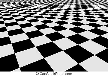 Checker - Abstract checker background 3d image