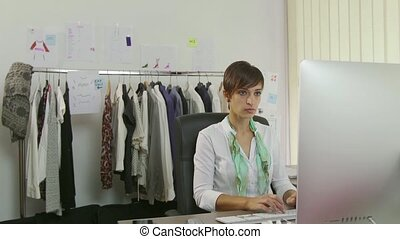 Woman Working As Businesswoman