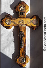 Jesus on the cross - The Jesus on the cross