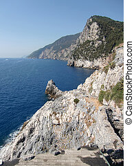 portovenere costa - coast and sea portovenere italy