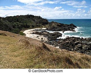 Port Macquarie Beach - A beach scene in Port Macquarie, New...