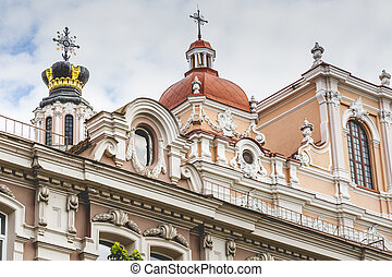 Church of St Casimir, Vilnius, Lithuania