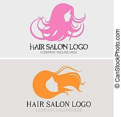Hair Salon Logoeps - Hair Salon Logo is highly suitable for...