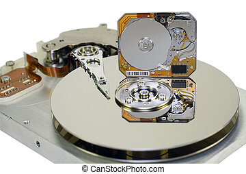 "3.5 and 1 inch Hard disks - Near to standard HDD 3,5 ""it is..."