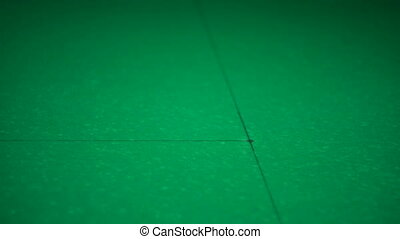 Billiards. Black balloon at the starting position - Russian...