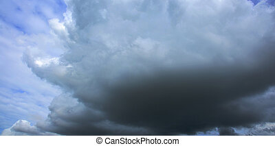 Stormy Clouds and Sky Background