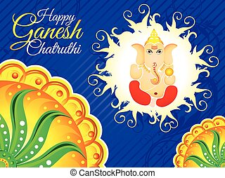 abstract detailed ganesh chaturthi background.eps - abstract...
