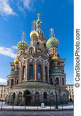 Famous Church in St. Petersburg