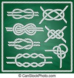Sailor knot set.
