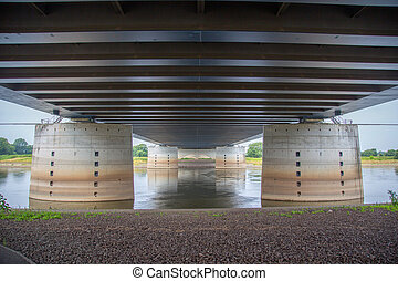 Under the channel - Under the Elbe-Havel Canal over the Elbe...