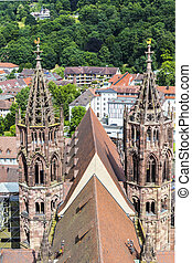The Minster of Freiburg Germany - The famous Minster of...