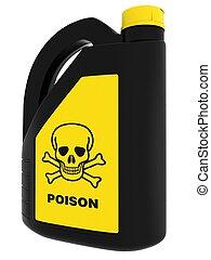 Toxic!, poison, boîte