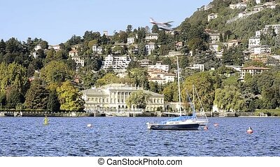 lake como - Italy, Lake Como. Como Cityscape.