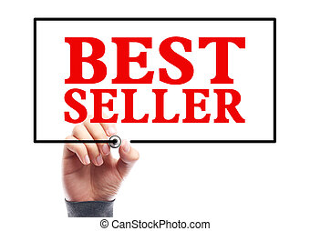 Best Seller - Hand with marker is writing the concept of...