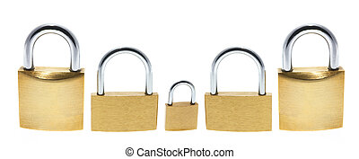 PadLocks - Padlocks on Isolated White Background