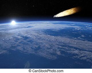Meteorite - 3D render