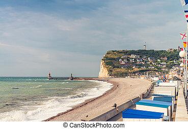 Normandy Coast. Fecamp.