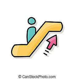 Escalator doodle
