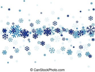 Falling snowflakes Clipart Vector and Illustration. 7,504 ...