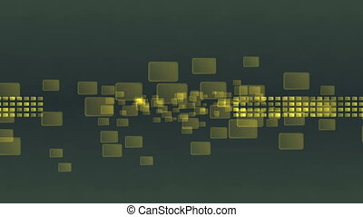 abstract golden squares texture 4k