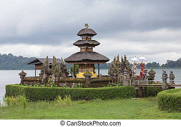 Ulun Danu Bratan , Temple on the lake , Bali , Indonesia -...