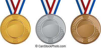 Olímpico, medalhas