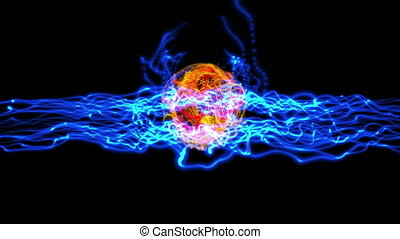 energy ball plasma 4k