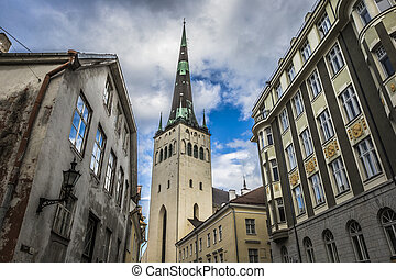 St. Nicholas Church in Tallinn, Estonia.