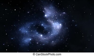 Expanding Nebula for use with projects on science,...